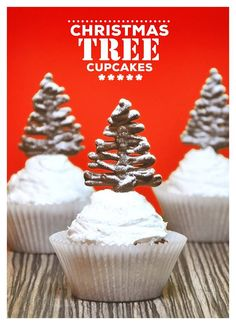 #christmas #tree #cupcake