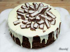 Sernik Bounty z polewą z białej czekolady - Stonerchef How Sweet Eats, Tiramisu, Sweet Recipes, Nom Nom, Cheesecake, Food And Drink, Cooking Recipes, Sweets, Ethnic Recipes