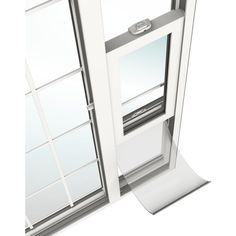 Shop JELD-WEN V-2500 71.5-in 1-Lite Glass Desert Sand Vinyl Sliding Patio Door with Screen at Lowes.com