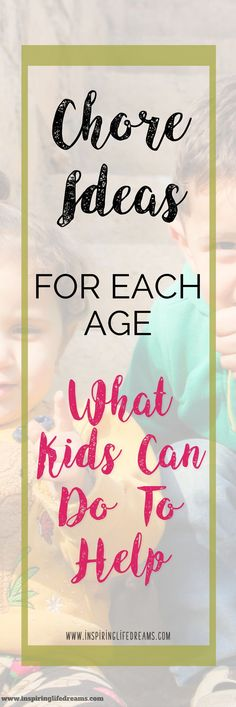 If you are looking for age-appropriate chores for kids at each age then you have come to the right place! This list of age-appropriate chores for kids at each age comes from my book LIFE-SKILLS - 100 THINGS EVERY KID NEEDS TO KNOW BEFORE LEAVING HOME. List of chore ideas for kids | Chore List For Children | Kids Chores | Kids Household Chores Printable