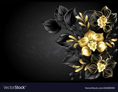 Black background with black orchid vector image on VectorStock Wings Wallpaper, Abstract Iphone Wallpaper, Butterfly Wallpaper, Decorative Leaves, India Map, Stationary Design, Name Art, Black Orchid, Black Backgrounds