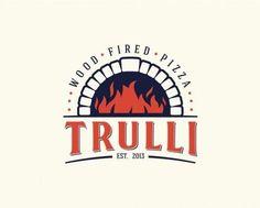 Unique Logo Design, Trulli Pizza #Logo #Design (http://www.pinterest.com/aldenchong/)