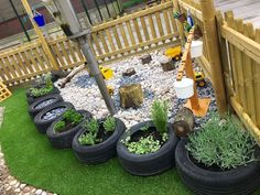 49 Easy Diy Playground Project Ideas For Backyard Landscaping Outdoor Learning Spaces, Outdoor Play Areas, Eyfs Outdoor Area Ideas, Preschool Garden, Sensory Garden, Natural Playground, Outdoor Playground, Playground Ideas, Garden Ideas Early Years