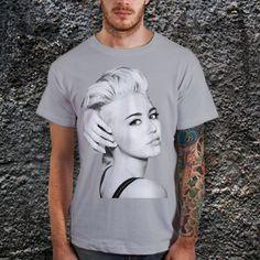 Miley Cyrus TShirt Pop Rock TShirt Men T.Shirt by CoffeenTeeShirt, $17.99
