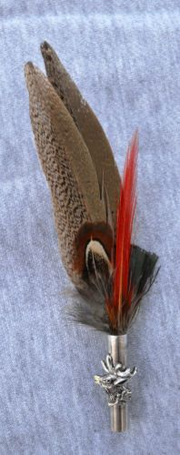 f9359e755b833 Traditional German Bavarian Hat Feather 6