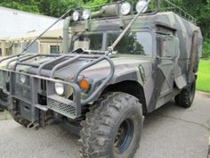 Humvee ambulance. Perfect for zombie base camp