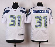 3bbffc760 Nike Seattle Seahawks #31 Kam Chancellor White Elite Jersey Jermaine  Kearse, Bruce Irvin,
