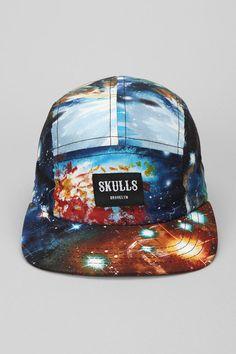 SKULLS Cosmos 5-Panel Hat   #UrbanOutfitters