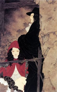 Takato Yamamoto Little Red Riding Hood Japan Illustration, Yamamoto, Personajes Studio Ghibli, Art Kawaii, Ero Guro, Art Japonais, Arte Horror, Wow Art, Expo