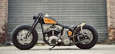 This panhead is the latest from Germany's Thunderbike Harley-Davidson. Via http://www.bikeexif.com/1951-harley-davidson
