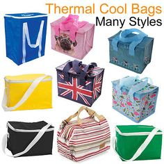 Cool bag #thermal cooler insulated lunch box picnic food #drink ice #travel carri,  View more on the LINK: 	http://www.zeppy.io/product/gb/2/222046909196/