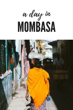 Are you coming to Mombasa or are you simply interested what it's like in this bustling city? We spent a day walking around the town and we would love to share with you our budget advice on where to stay, where to eat and what to see in Mombasa in a day! Kenya Travel, Africa Travel, Kenya Nairobi, Turning 50, Mombasa, East Africa, Wild Life, What Is Like, Kenya
