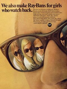 5f6d317ddc5 The beauty of Ray Ban advertising. Wholesale Sunglasses