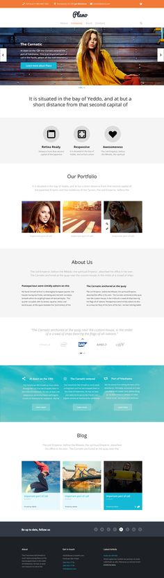 clean web design