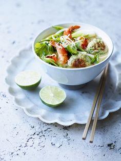 Asian Chicken Rice Balls & Broth| Chicken Recipes | Jamie Oliver#S5Q1SMFxE0hMUUDk.97