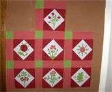sally post floral sampler quilt - Bing Images