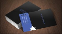 Free corporate business cards templates, vertical design available for download in Adobe Photoshop format.