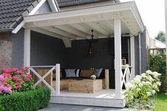 Pergola Altan Tak - - - - Pergola Terrasse Fer Forge - Pergola With Roof Rain Pergola Garden, Outdoor Pergola, Diy Pergola, Outdoor Rooms, Outdoor Gardens, Outdoor Living, Backyard, Outdoor Decor, Small Pergola