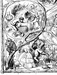Tenniel - Children's Book Illustration and Cartoons for Punch Punch Magazine, John Tenniel, Kids Writing, Through The Looking Glass, Children's Book Illustration, Children's Books, Alice In Wonderland, Illustrators, Fairy Tales