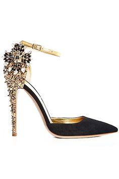 DSquared2 shoes black sparkle