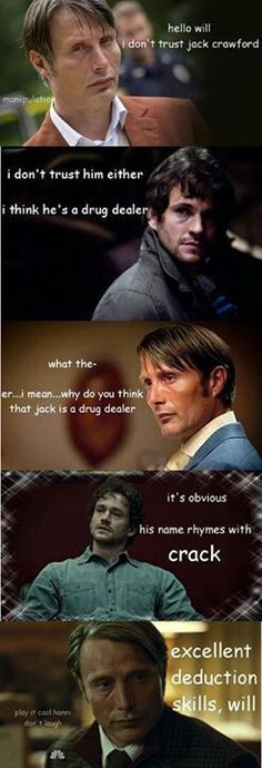 Play it cool, Hanni. Doesn't mean he'll figure out your name...