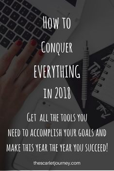 Join the movement to conquer life and accomplish all your goals. If had trouble tackling those resolutions last year, this will make the difference.
