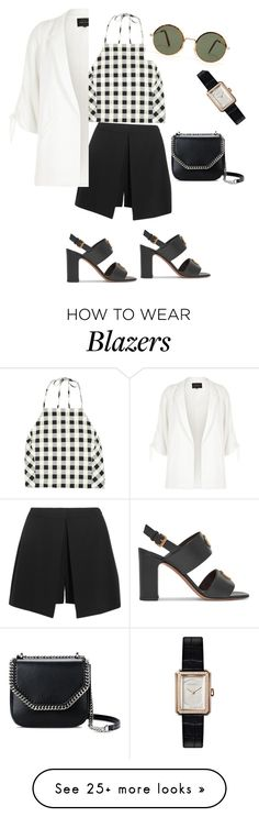 """Untitled #111"" by vmaras82 on Polyvore featuring rag & bone, Alexander McQueen, Valentino, STELLA McCARTNEY, Chanel and River Island"