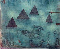 Paul Klee - Water Pyramids, 1924.
