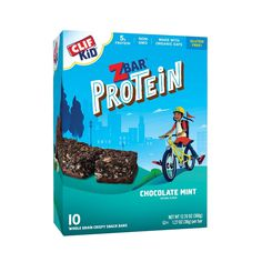Clif Kid Z Bar Protein Chocolate Chip Protein Bars - Gluten Free Snacks, Gluten Free Oats, Clif Bars, Kids Blocks, Good Sources Of Protein, On The Go Snacks, Protein Snacks, Protein Bars, Keto Snacks