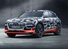 Audi Shows Off E-Tron Electric SUV In Near-Production Form