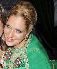 moroccos gorgeous princess shrifa lalla soukaina engagement picture - Mariage Lalla Soukaina