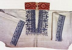 FolkCostume&Embroidery: East Telemark, Norway, embroidered shirts for Raudtrøye and Beltestakk Embroidery Patterns, Sewing Patterns, Scandinavian Embroidery, Bridal Crown, Folk Costume, Embroidered Shirts, Fabric Painting, Traditional Outfits, Floral Tie