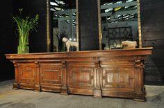 nice wooden counter c.1880 www.espacenordouest.Com