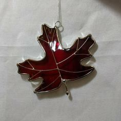 On a fall day we all wish we could freeze time as the color leaves change and become so vibrant with color. But the leaves fall to the ground and before you know it the vibrant colors are gone. This leaf design is my way of freezing time with ever lasting glass. Never fading or