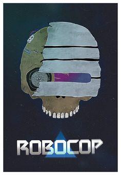 ROBOCOP dead poster