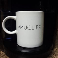 #MUGLIFE - Photo by Instagram user nalaniduh. The perfect mug to sip your Keurig Brewed coffee, tea, or hot cocoa in!