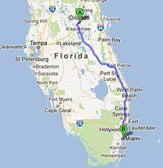Miami to Orlando