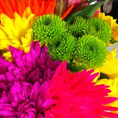 Neon Flowers. LOVE <3