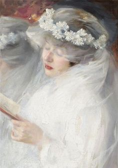 "The First Communion. Dmitri Iosifovich Kiplik (Russian, Oil on canvas. ""When we work hard, we must eat well. What a joy, that you can receive Holy Communion often! It's our life and. Musée Rodin, Henri Fantin Latour, Munier, Pre Raphaelite, Woman Reading, First Communion, Vintage Beauty, Female Art, Art History"