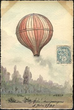 June 4, 1783  Brothers Joseph and Etienne Montgolfier provided the first public demonstration of their hot air balloon in the town square of Annonay, France.
