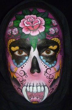 face painting forum...lots of sugar skulls