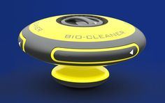 BIO-Cleaner : Oil Spill Cleaning System That Utilizes Bacteria to Break Down the Pollutants - Tuvie Lng Carrier, Acoustic Wave, Gnu Linux, Oil Spill, Cool Tech, Sustainable Design, Innovation Design, Robots, Industrial Design
