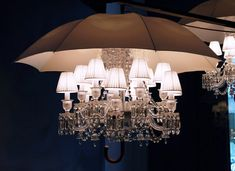 Marie Coquine chandelier by Baccarat.