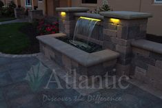 Looking to add a water feature to your outdoor space? A Colorfalls is a great choice to add the sound of water and light, with minimal maintenance. For more information, and to find a distributor or contractor near you, visit our website. #Colorfalls