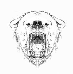 #tattoo #bear