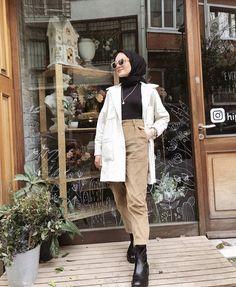 (notitle) Tesettür Kombinleri The clothing culture is fairly old. Modern Hijab Fashion, Street Hijab Fashion, Modesty Fashion, Hijab Fashion Inspiration, Muslim Fashion, Stylish Hijab, Casual Hijab Outfit, Hijab Chic, Hijab Dress