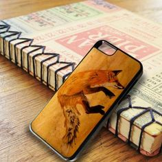 Wood Orange Fox iPhone 6|iPhone 6S Case