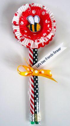 Wild About Ewe, Honey! - Cupcake Valentine Flower Valentine