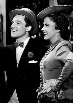 """Gene and Judy, (""""For Me and My Gal"""") - 1942"""