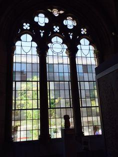 Yale U. Art Gallery Windows- like being in Paris!